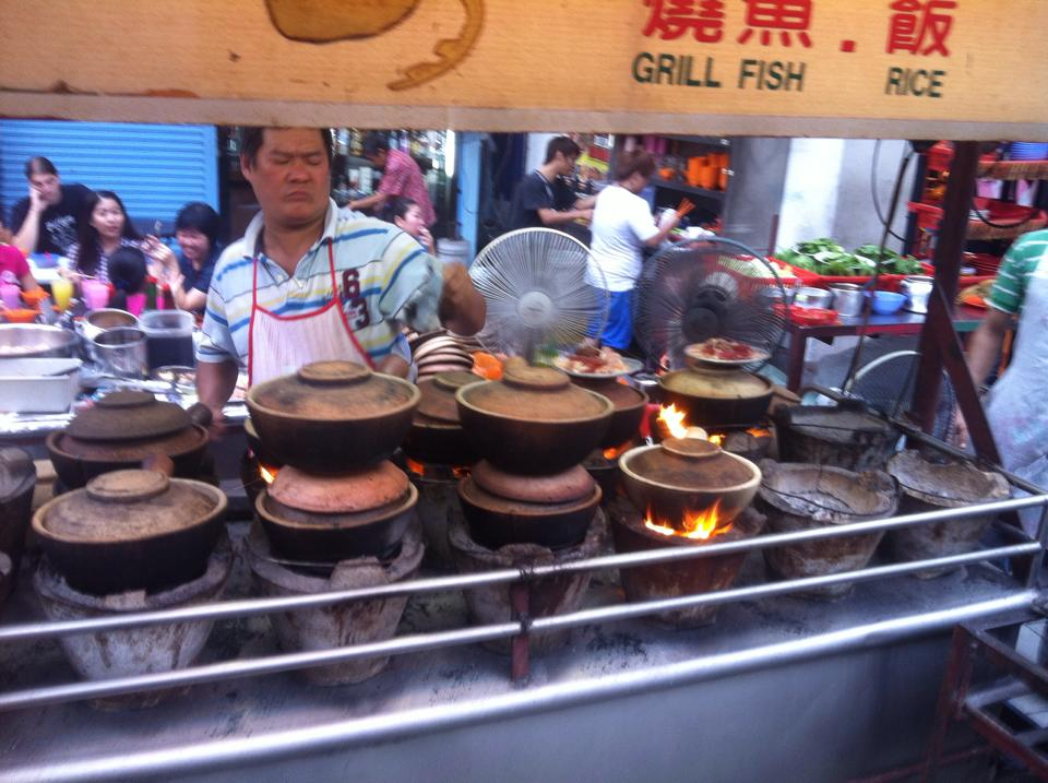 The most serious clay pot chef the world has ever seen