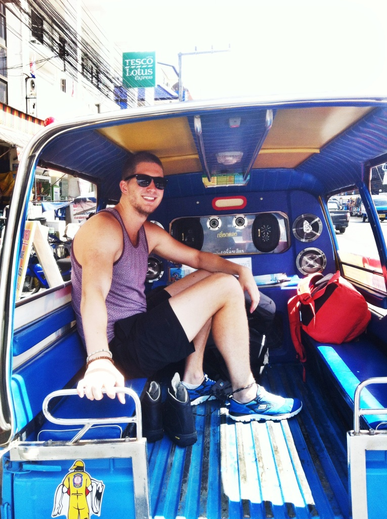 My first Tuk Tuk ride ever!