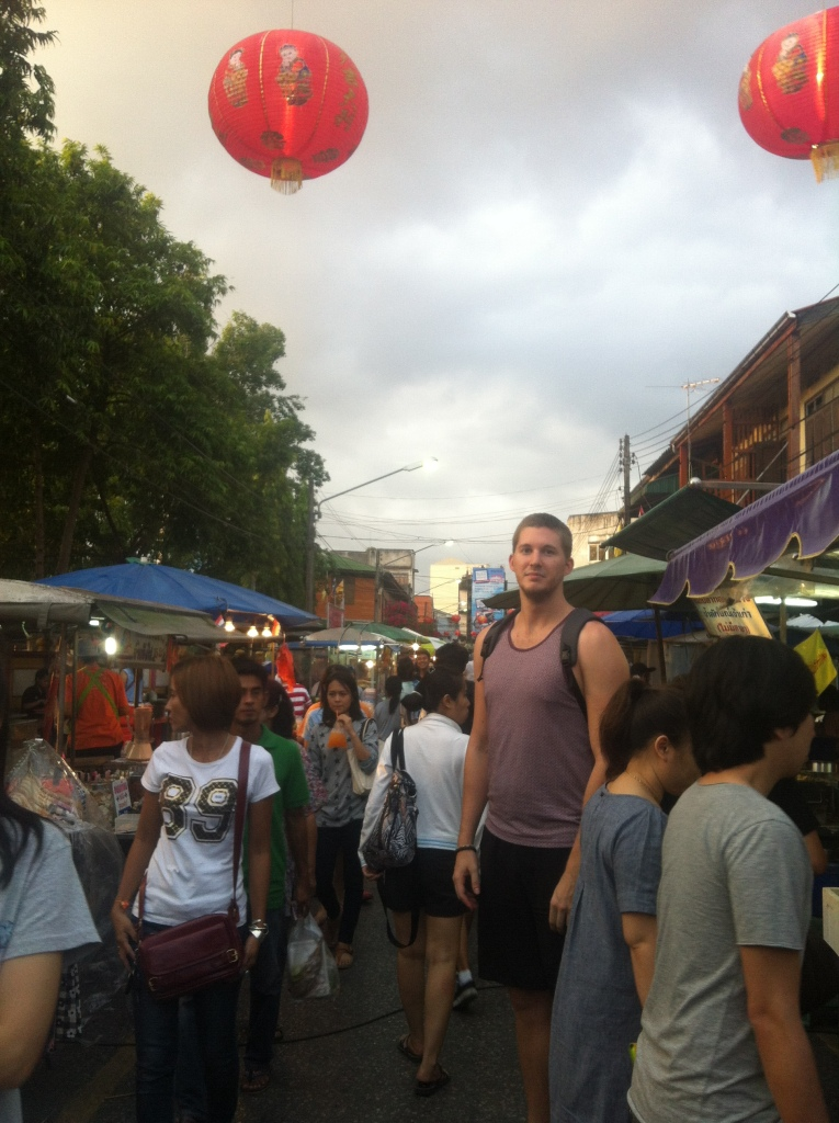 I'm used to feeling tall everywhere I go, but these markets literally made me feel like a giant.