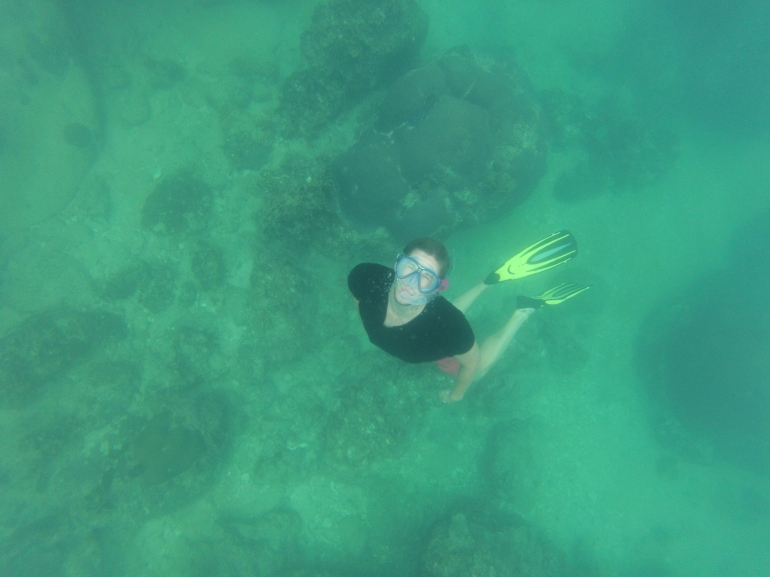 Diving in Mango Bay