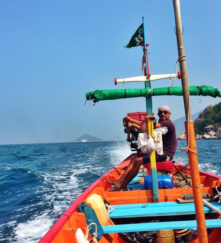 Thai Pirate/Boat man