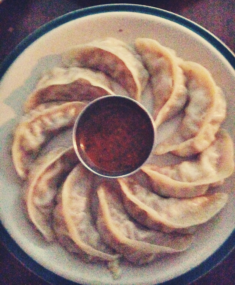 Say no to drugs and yes to momos.