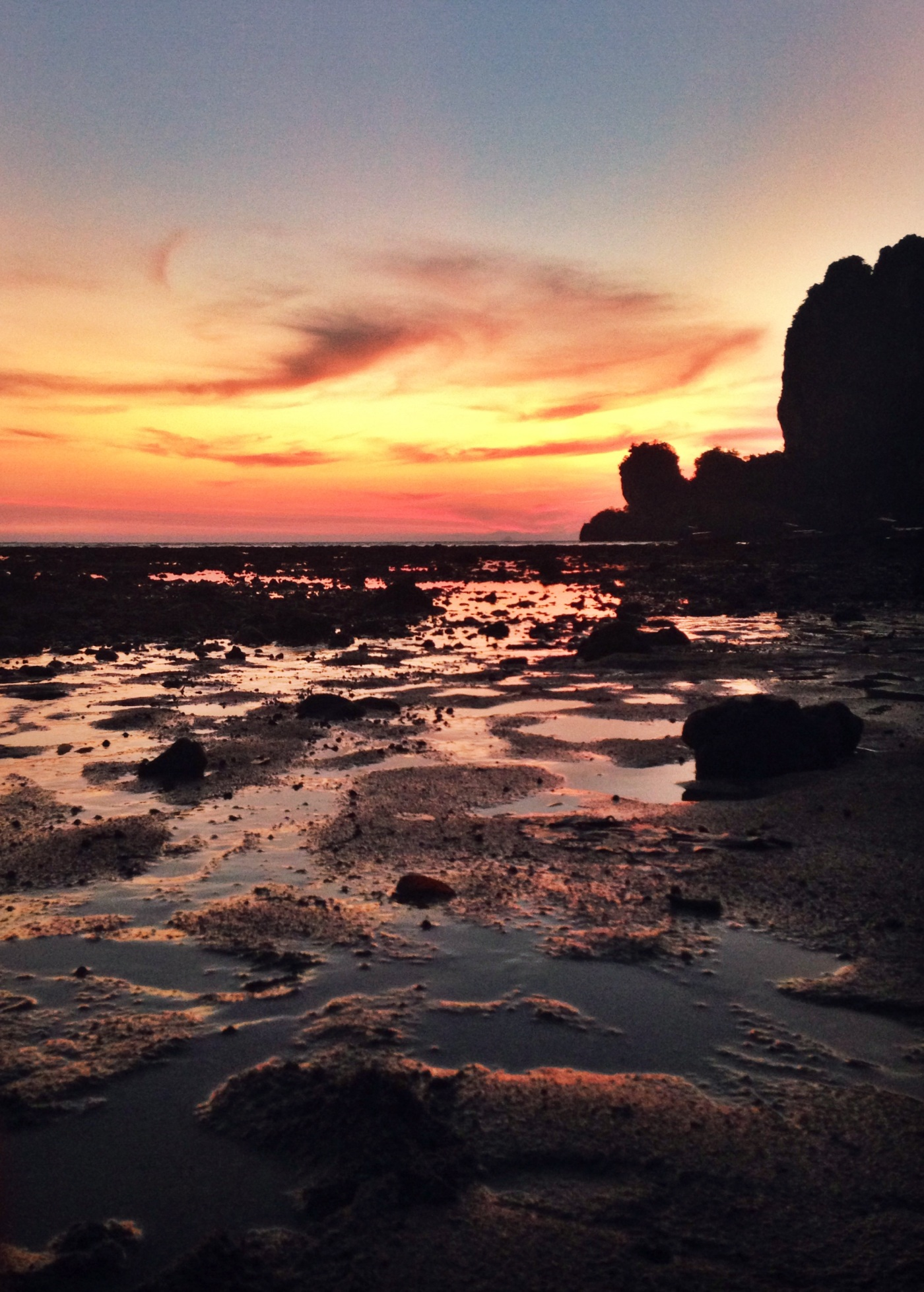 The famed Tonsai sunset