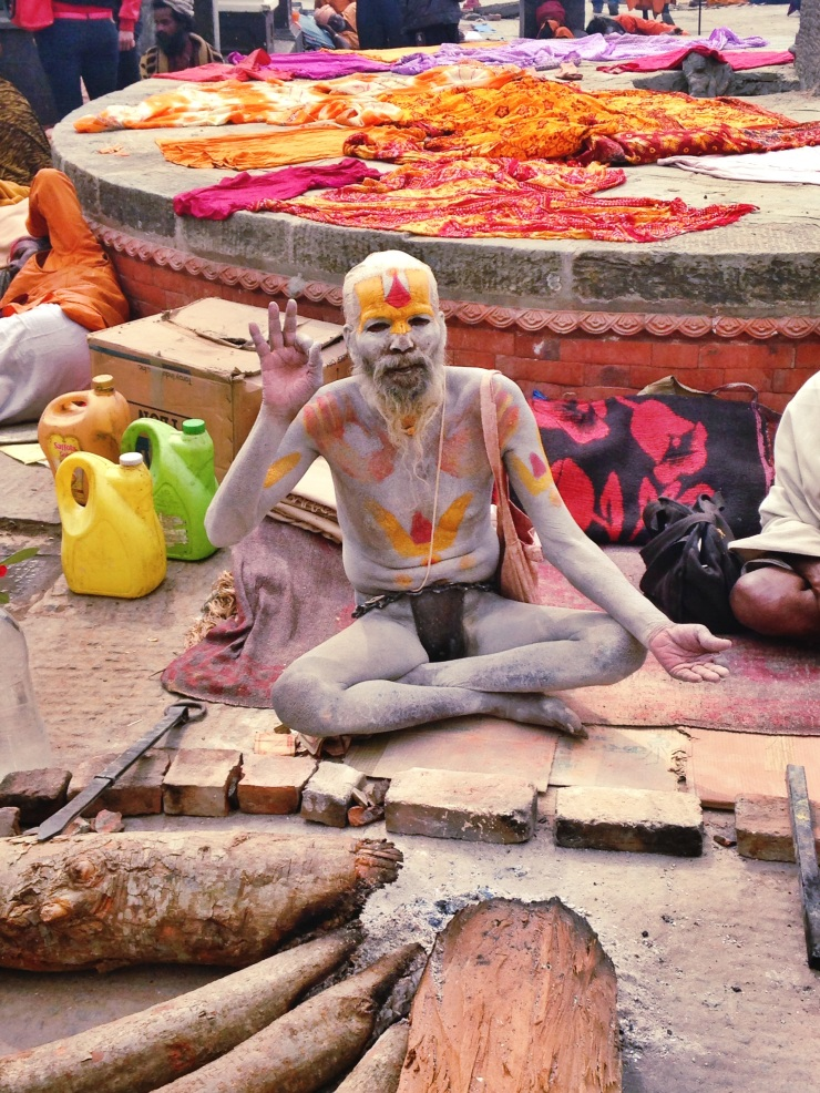 The most holy Sadhu.