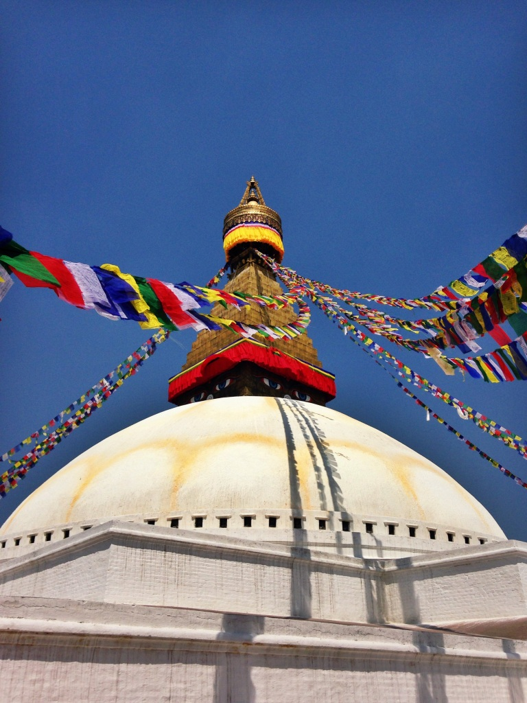 The stupa in all its glory