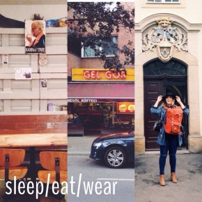 sleep/eat/wear: Berlin Edit.